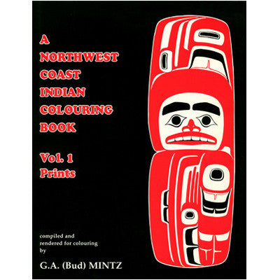 Northwest Coast Colouring Book - Colouring Book