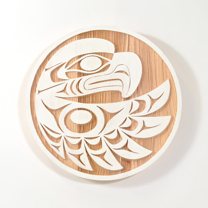 Eagle in Flight - Red Cedar Panel