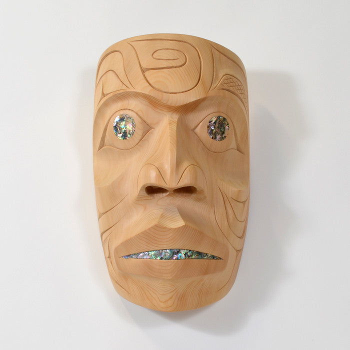 Residing in a Spiritual Realm - Yellow Cedar Mask