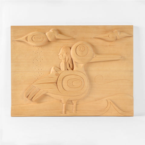 In Between Time - Yellow Cedar Panel