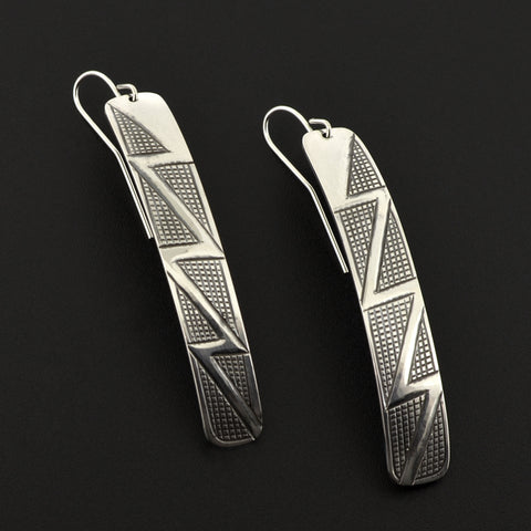 Lightning - Silver Earrings
