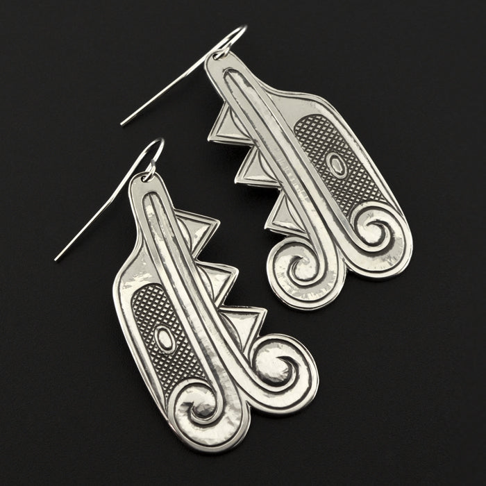 North Wind - Silver Earrings