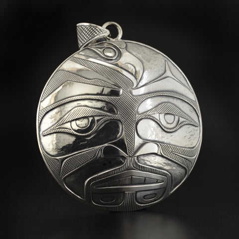 Awakening the Warrior - Silver Pendant