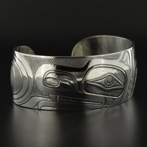 Transforming Wolf - Silver Bracelet