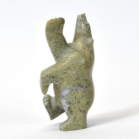 Dancing Bear - Stone Sculpture