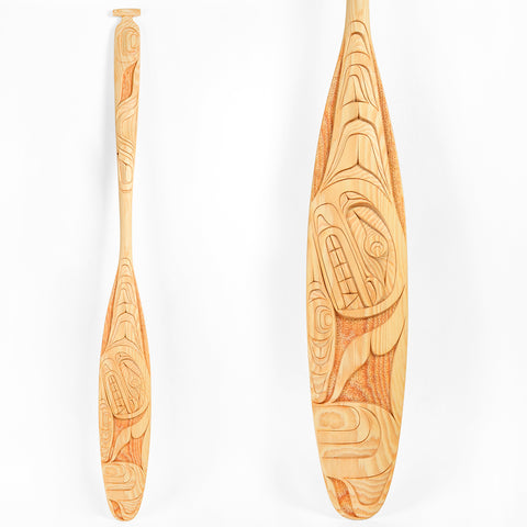 Whale - Yellow Cedar Paddle