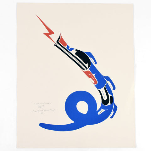 Lightening Snake - Limited Edition Print