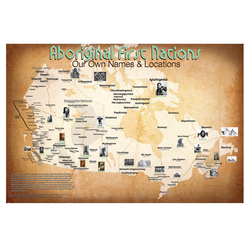 First Nations Origins Map