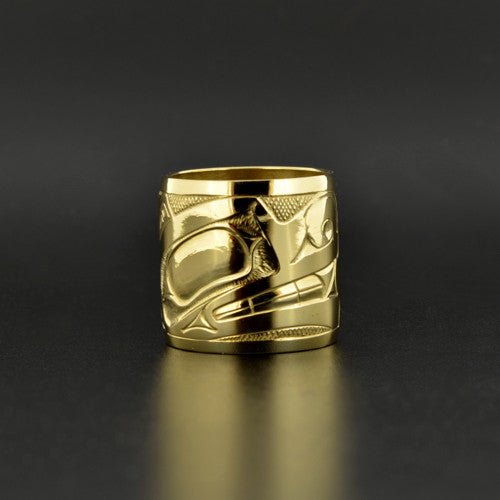 Wolf - 18k Gold Ring