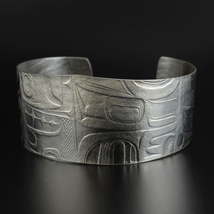 Abstract - Silver Bracelet