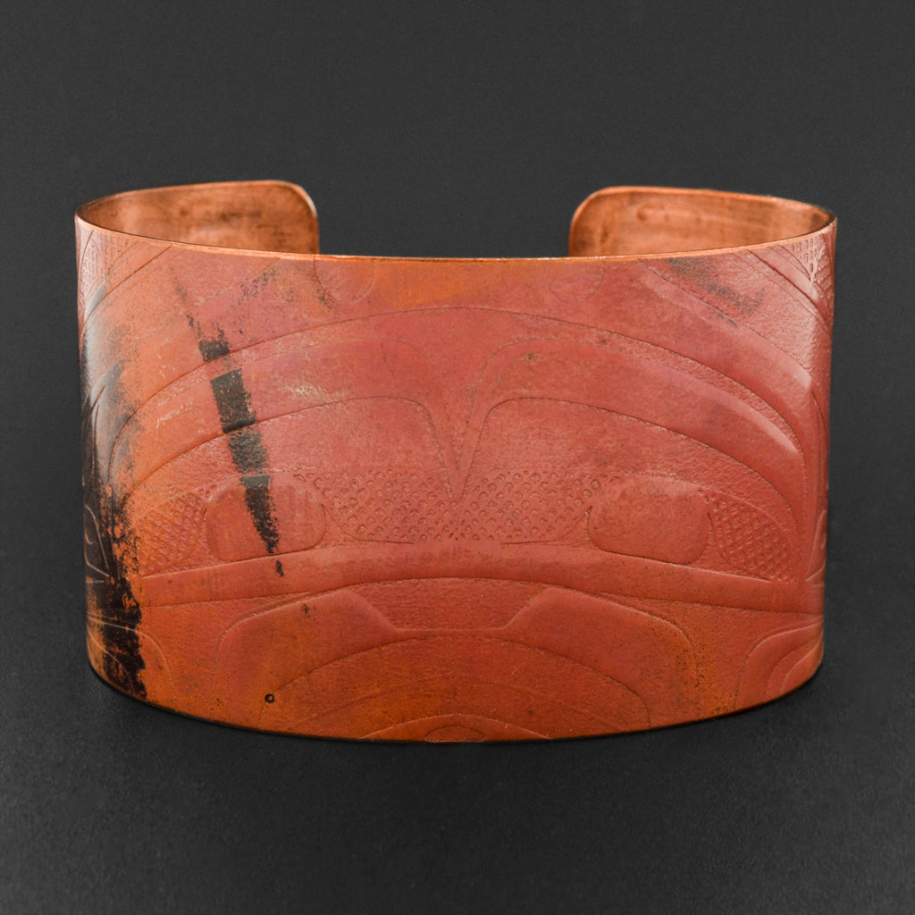 Abstract - Copper Bracelet