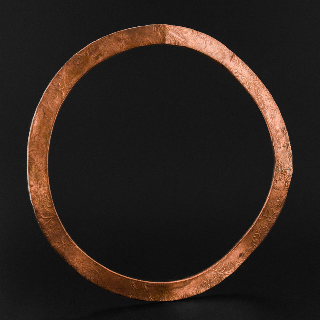 Abstract - Copper Bangle