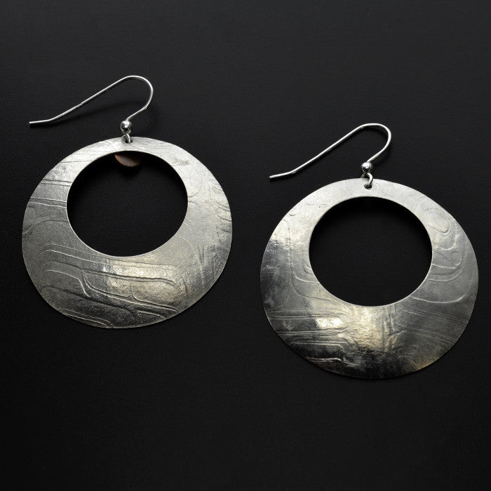 Gathered Water - Silver Earrings
