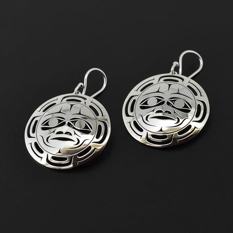Moon - Silver Earrings