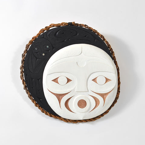 Lunar Eclipse - Red Cedar Mask