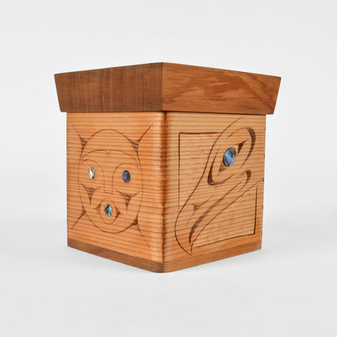 Moonlight - Red Cedar Bentwood Box