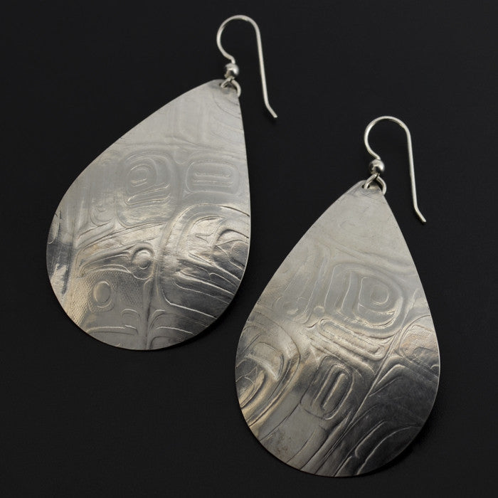 Rain - Silver Earrings