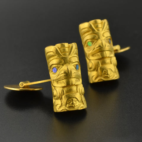 Beavers - 22k Gold Cufflinks