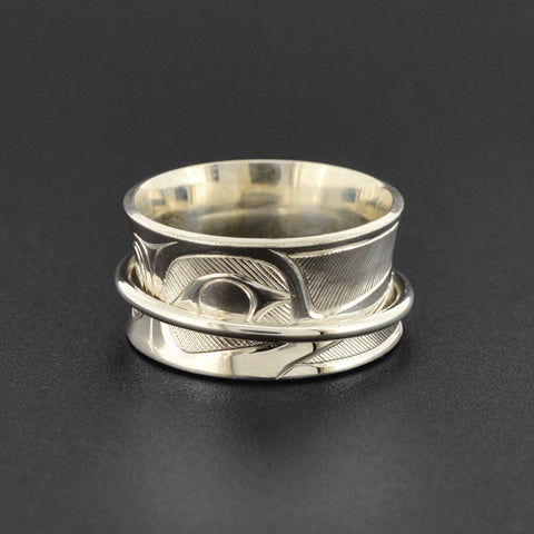 Hummingbird - Silver Ring