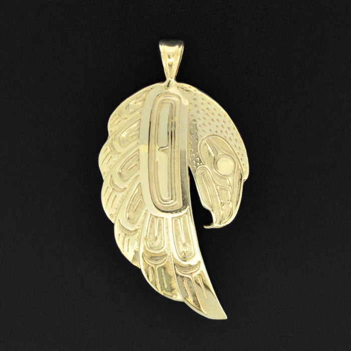 Eagle - 10k Gold Pendant