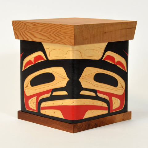 Bear - Cedar Bentwood Box
