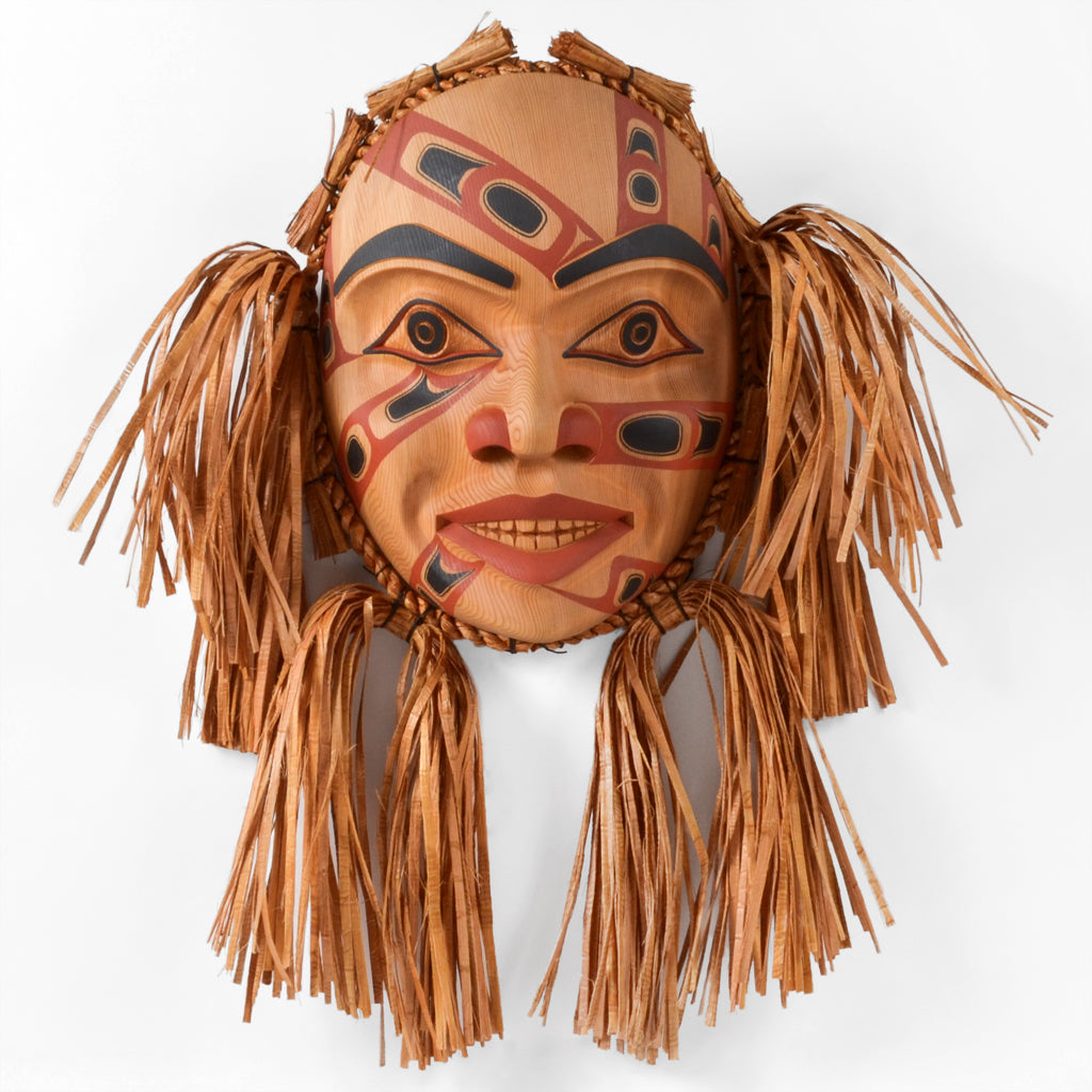 Man of the Sun - Red Cedar Mask