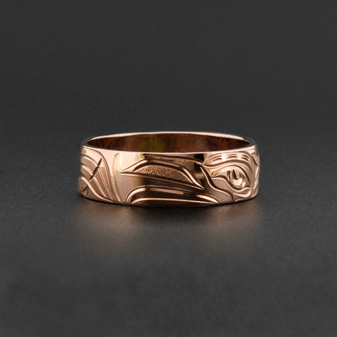 Eagle - 14k Rose Gold Ring