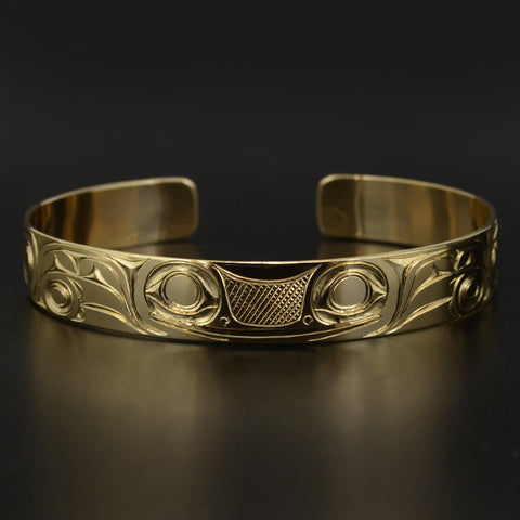 Frogs - 14k Gold Bracelet