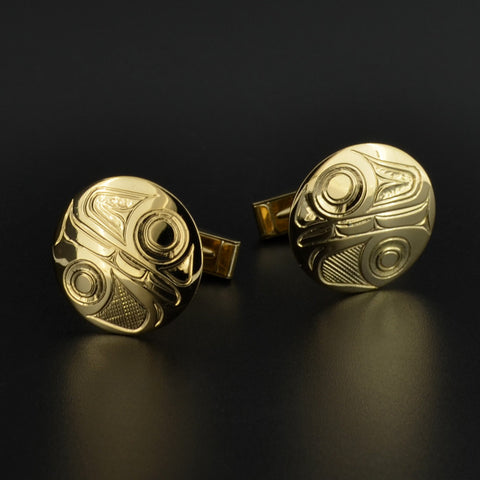 Killerwhales - 18k Gold Cufflinks