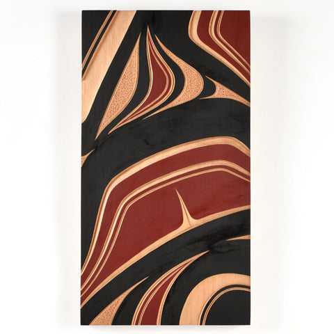 Abstract - Red Cedar Panel
