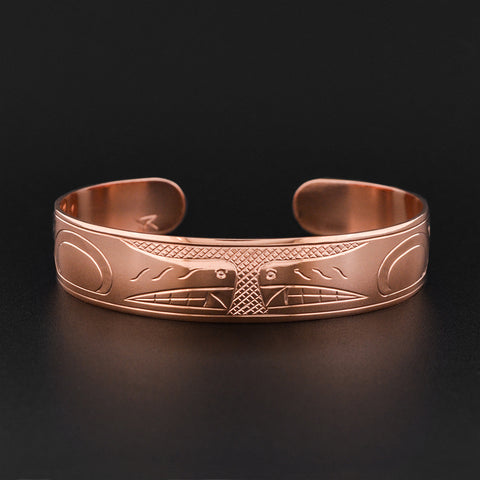 Wolves - Copper Bracelet