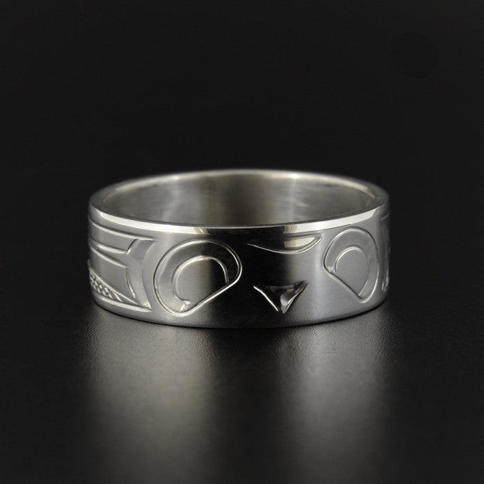 Owl - Silver Ring
