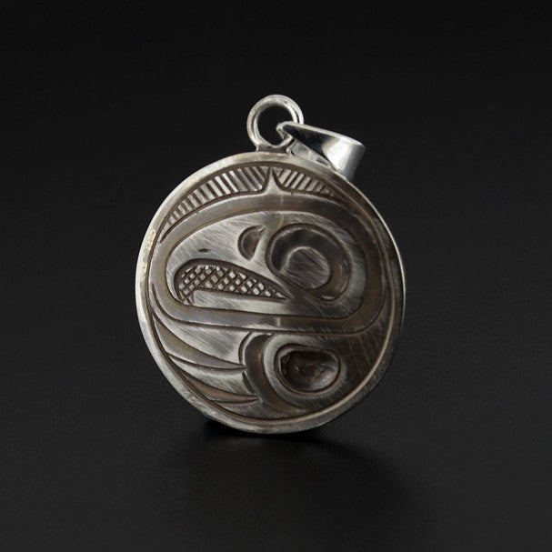 Eagle - Silver Pendant with Oxidization