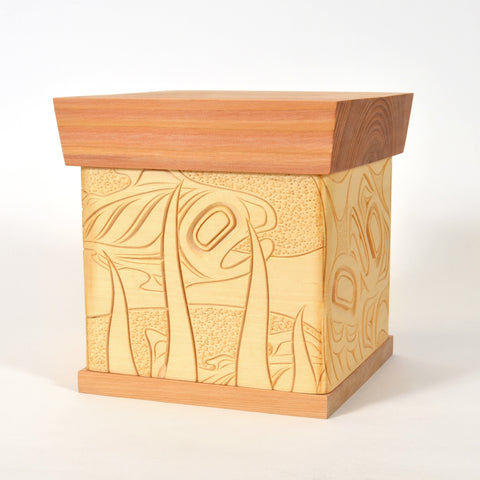Salmon and Eagles - Bentwood Box