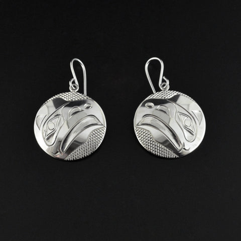 Eagle - Silver Earrings