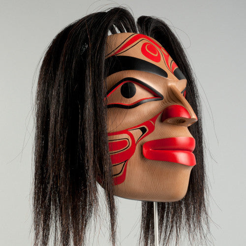 Eagle Portrait - Red Cedar Mask