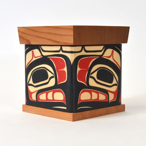 Eagle and Raven Steals the Light - Bentwood Box