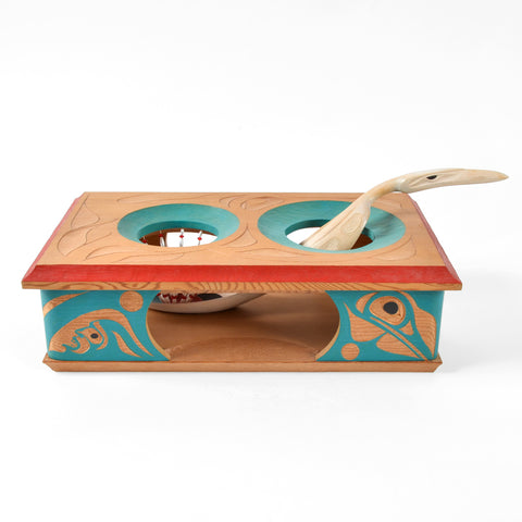 Weget Stealing the Swans - Red Cedar and Birch