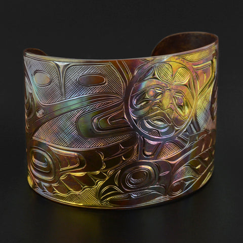 The First People - Copper Bracelet