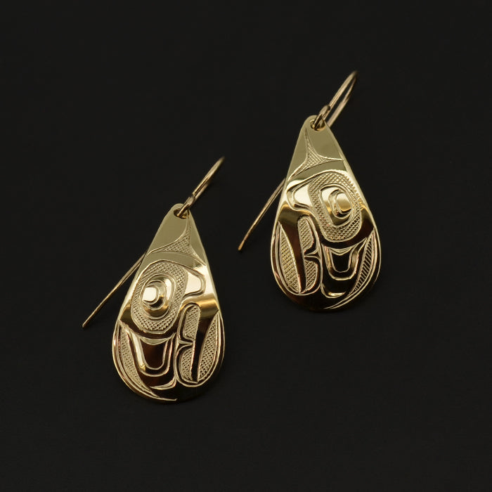 Eagles - 14k Gold Earrings
