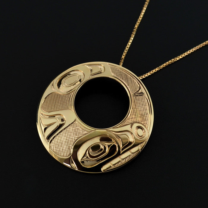 Killerwhale - 14k Gold Pendant