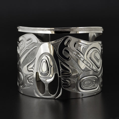 The First Tree Ancestor - Silver Bracelet