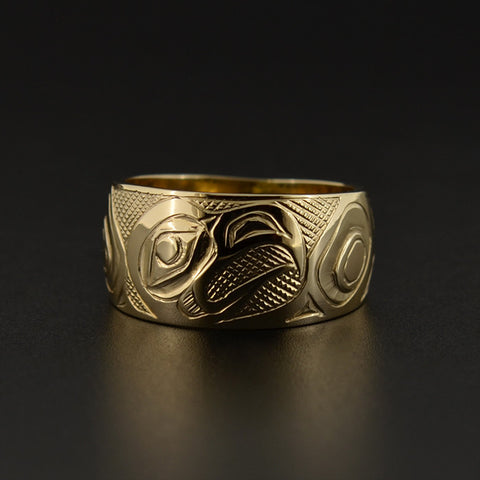Eagle - 14k Gold Ring