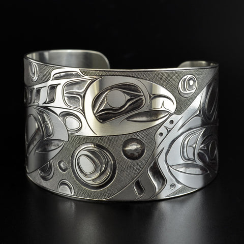Transformation in Progress - Silver Bracelet