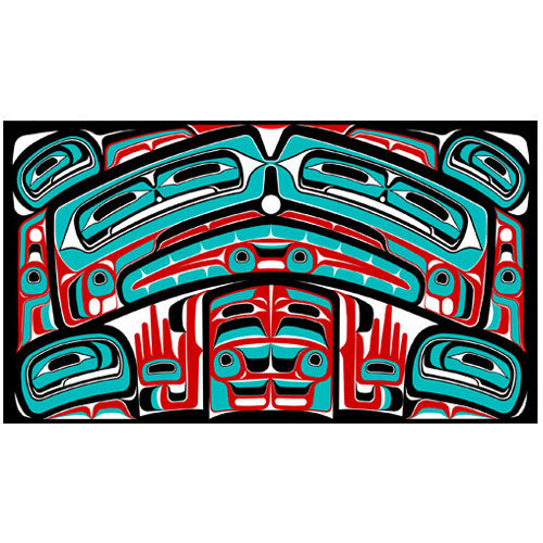 Haida Bentwood Box - Limited Edition Print