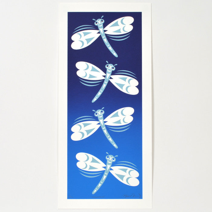 Dragonflies - Limited Edition Print