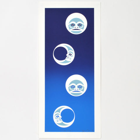 Winter Moons - Limited Edition Print