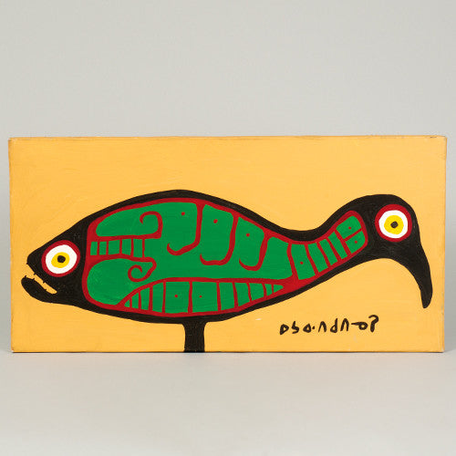 Fishbird - Acrylic on Canvas