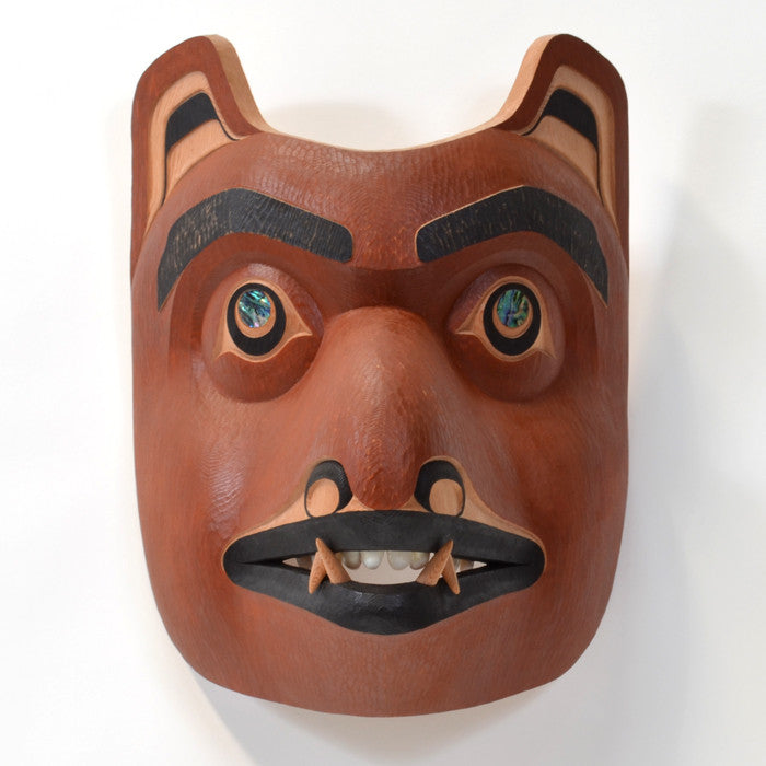 Juvenile Grizzly - Red Cedar Mask