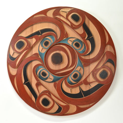 Cyclical - Red Cedar Panel